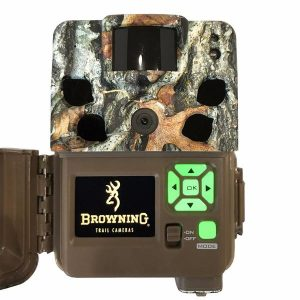 Back of the Browning Dark Ops Pro Camera